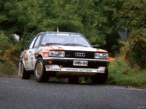Audi 80 Rally Audi 80 Quattro Rally Car B2 1983 1984 Pictures 1600x1200