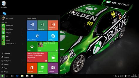 xbox theme for windows 10 xbox one racing theme for windows 7 8 8 1 and 10 save themes