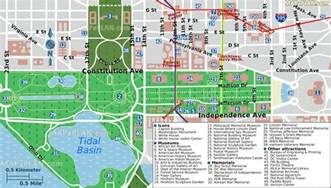 Washington Dc Tour Map by Image Gallery National Mall Museums