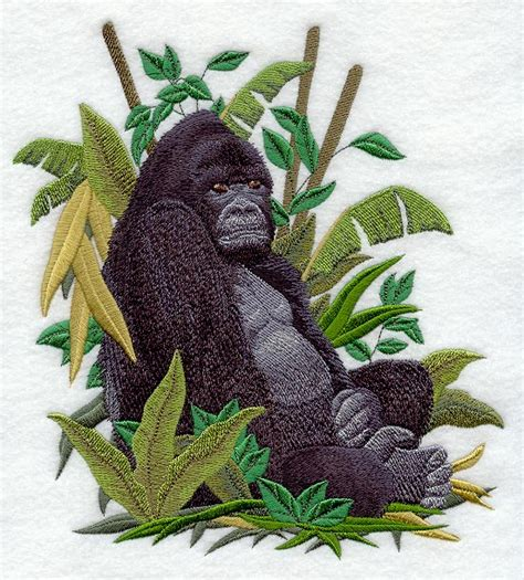 embroidery design gorilla machine embroidery designs at embroidery library