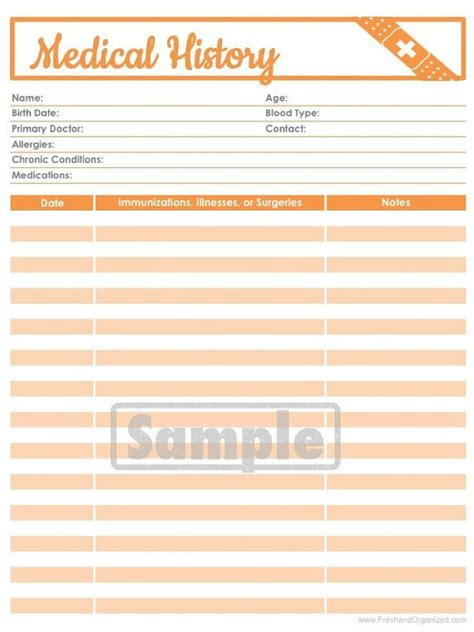 printable medical organizer top 25 ideas about personal medical record organizer on