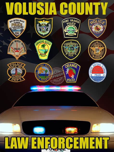 Volusia County Sheriff Office by Volusia County Florida Poster