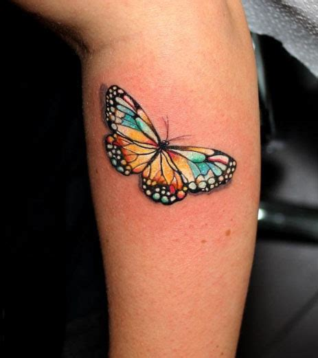 tattoo butterfly colours 85 3d butterfly tattoos