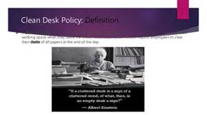 What Is Clean Desk Policy by Clean Desk Policy Pictures To Pin On Pinsdaddy