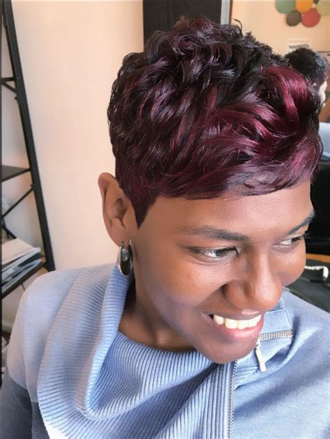 tappered pixie hairstyles for black women best 25 black short haircuts ideas on pinterest short