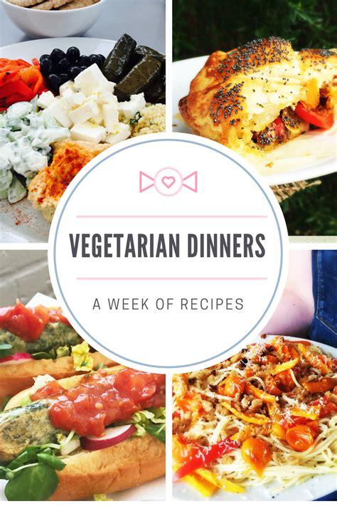 National Vegetarian Week 21 27 May by A Week Of Vegetarian Dinners Daisies Pie