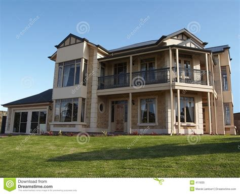large house big 2 storey house royalty free stock photo image