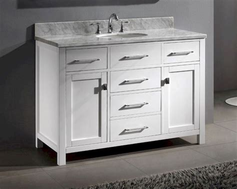 48in bathroom vanity caroline white 48in bathroom vanity by virtu usa vu ms
