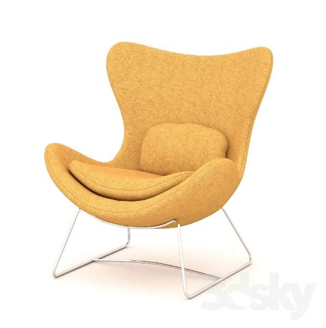 Comfortable Furniture 3d Models Arm Chair Lazy Armchair By Calligaris