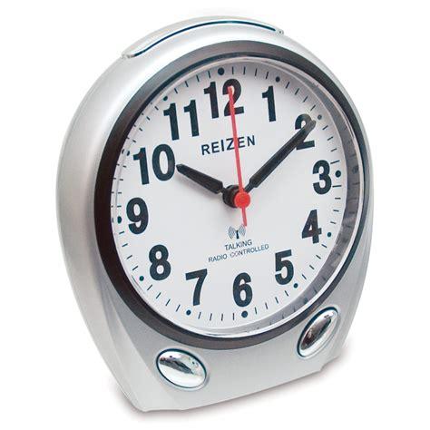 maxiaids reizen talking atomic analog alarm clock