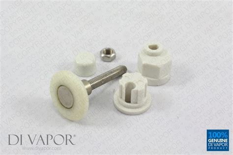 Shower Door Rollers Replacement 27mm Steam Shower Sliding Door Roller Wheel White Runners Replacement