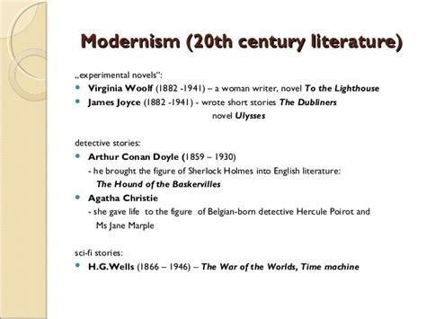themes of modernism in british literature british literature timeline doplněn 233
