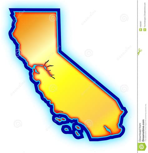 california map golden state golden california state map royalty free stock photography