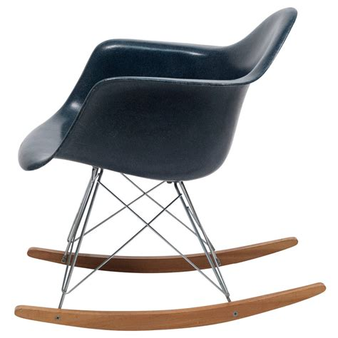 navy blue rocking chair eames navy blue shell herman miller rocking chair 1962