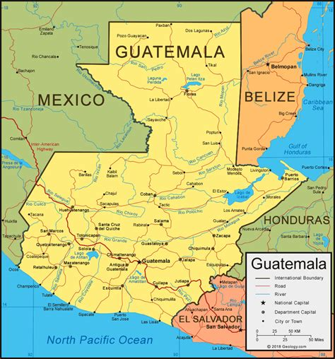 where is guatemala on the map guatemala map and satellite image