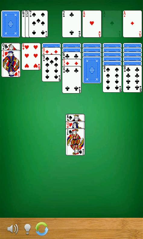 solitaire for android solitaire android au appstore for android