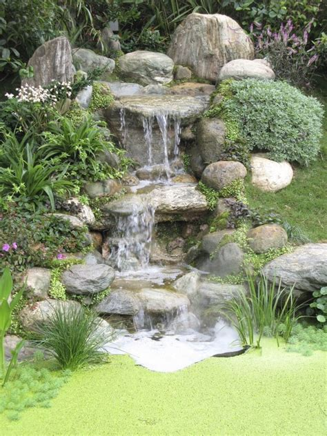 backyard waterfall designs 50 pictures of backyard garden waterfalls ideas designs
