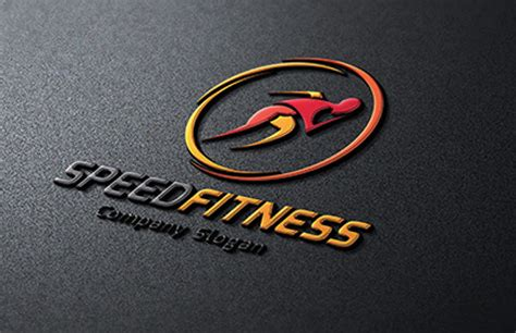 Home Workout Studio Design gym fitness logo template 84 psd format download free