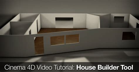house builder tool cinema 4d tutorial house builder tool the beat a