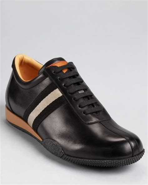 bally sneakers mens bally freenew sneakers in black for lyst