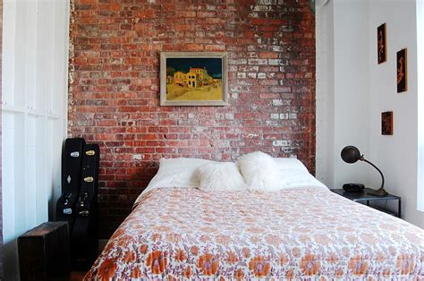 exposed brick bedroom 50 delightful and cozy bedrooms with brick walls