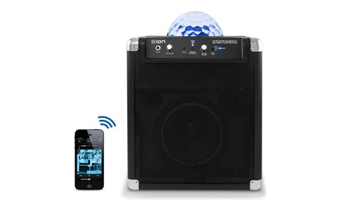ion bluetooth speaker with lights ion house party house plan 2017