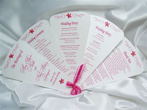 wedding program fans cheap image of wedding programs fan style girls wallpaper