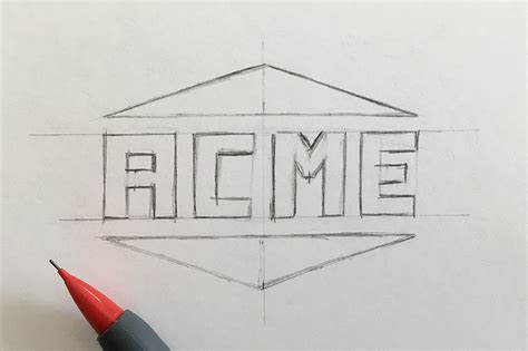 logo sketch how to turn a logo into a vector creative