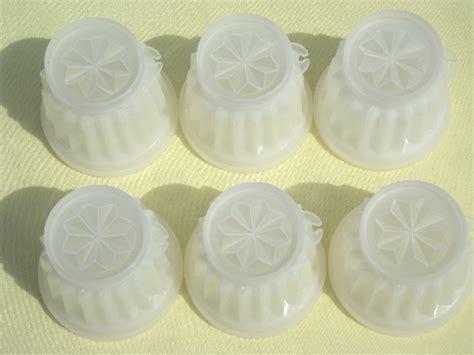 Tupperware Jello Set vintage tupperware jel ettes individual plastic jello