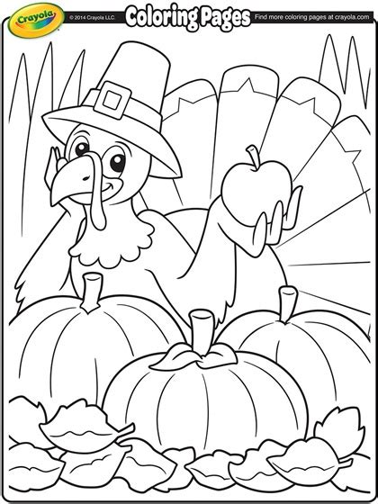 Crayola Thanksgiving Coloring Pages thanksgiving turkey coloring page crayola