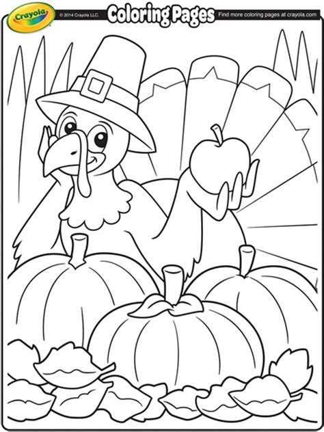 Crayola Turkey Coloring Page | thanksgiving turkey cartoon coloring page crayola com