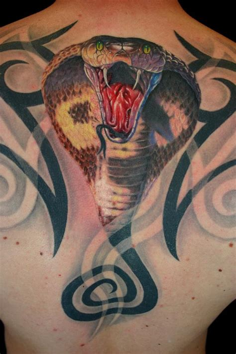 3d cobra tattoo best tattoo design ideas