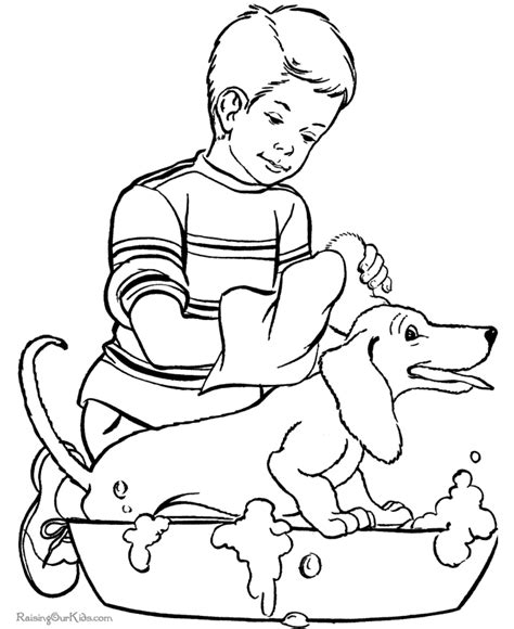 printable coloring pages pets the pet coloring pages