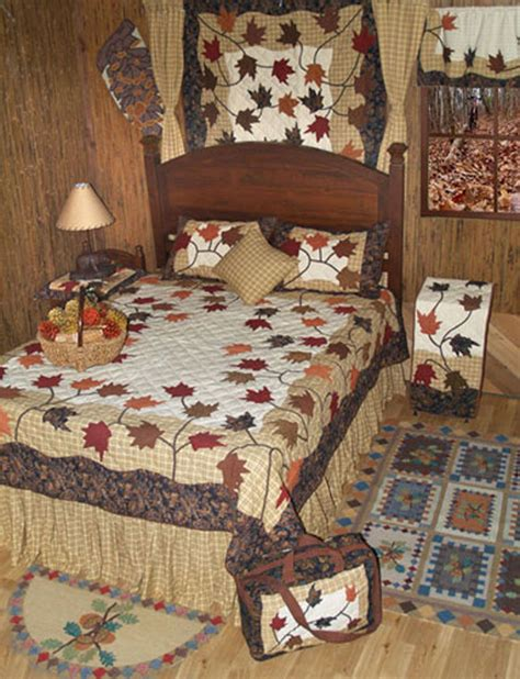Fall Quilts Bedding Autumn Leaves By Patchmagic Quilts Beddingsuperstore