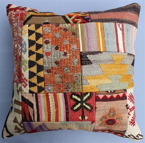 Patchwork Kilim - patchwork kilim pillow cover 1257