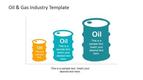 oil production powerpoint chart slidemodel
