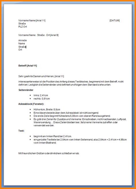 Englisch Brief Beispiel Brief Englisch Schreiben