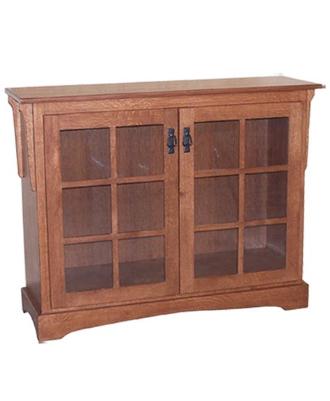 Small Bookcase With Doors Small Mission Bookcase With Doors Amish Direct Furniture