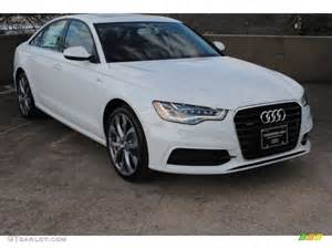 2013 glacier white metallic audi a6 3 0t quattro sedan