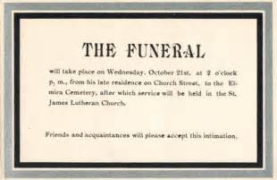 a grave interest mourning cards the of