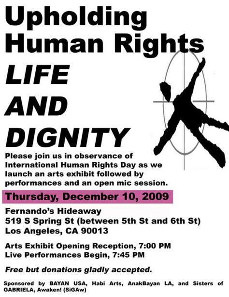 Upholding Human Dignity Essay by Habi Arts 187 2009 187 November
