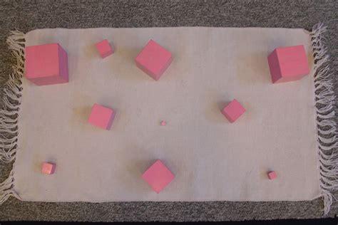 Pink Tower 1 file pink tower 1 jpg montessori album