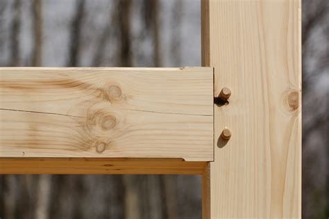 Mortise Tenon Joined Barn Timber Frame What Is A Timber Frame Carolina Timberworks