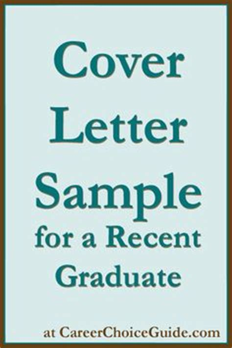 Cover Letter Tips For New Graduates Sle Cover Letter For A Recent Graduate With
