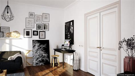 Monochrome Interior Design | delving in monochrome interior design adorable home
