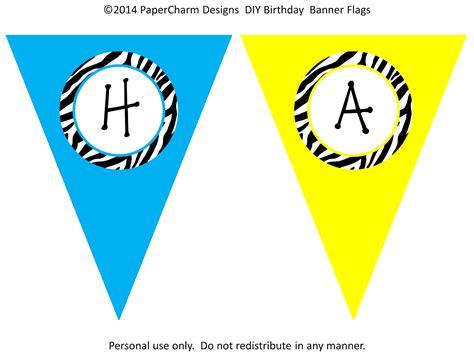 free printable zebra birthday banner papercharm free zebra birthday banners