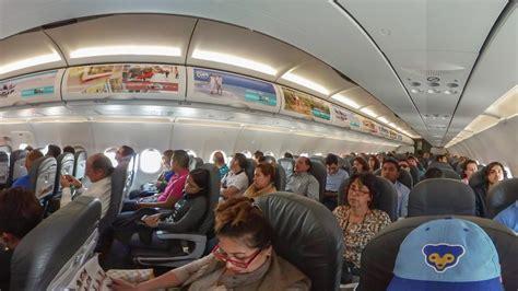 360 airplane interior viva aerobus all sleeping 4k