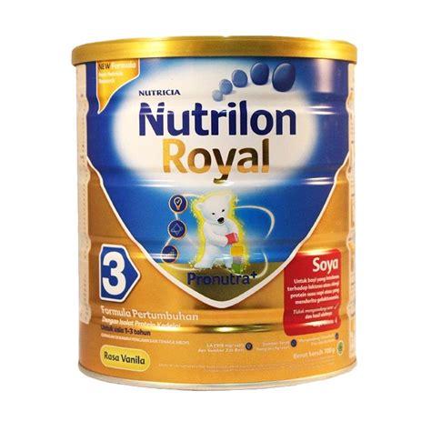 jual nutrilon royal soya 3 vanila 700 gr harga