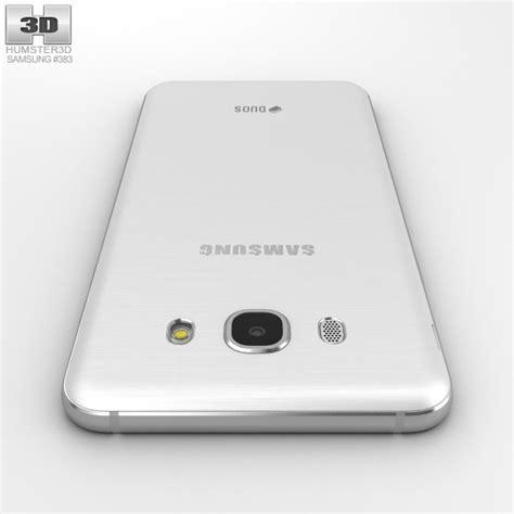 Custom 3d For Samsung J7 2016 samsung galaxy j7 2016 white 3d model hum3d