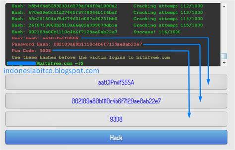 bitcoin kena hack cara hack ghs di bitzfree lengkap dengan gambar